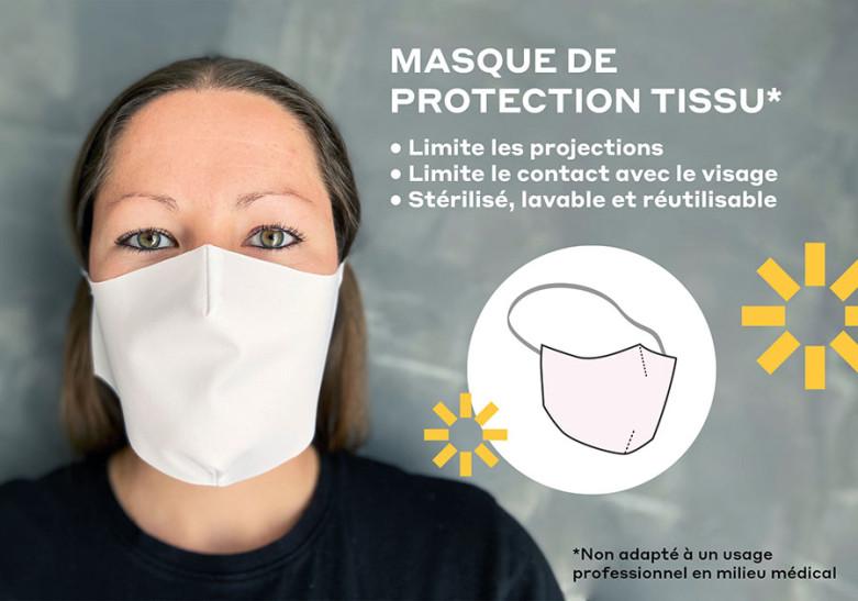 Commandez un masque de protection en cette période de crise sanitaire.