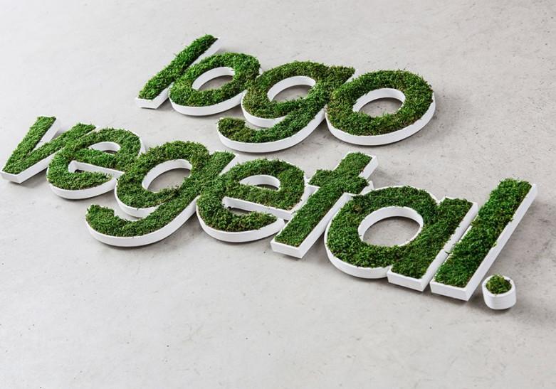 Lettre et Logo Vegetal