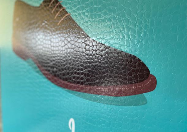 Pelliculage texturé crocodile