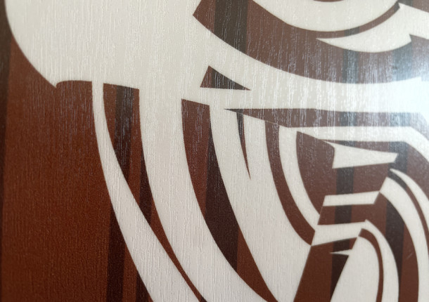 Plastificado textura madera