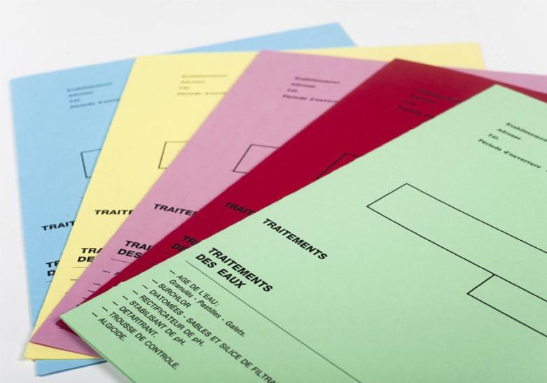 Papelería Dosier color