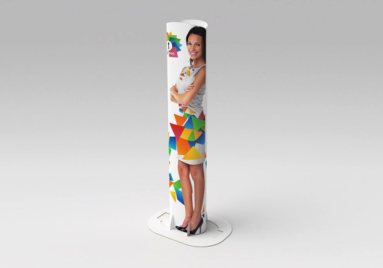 Salon Evenement - Totem carton eco