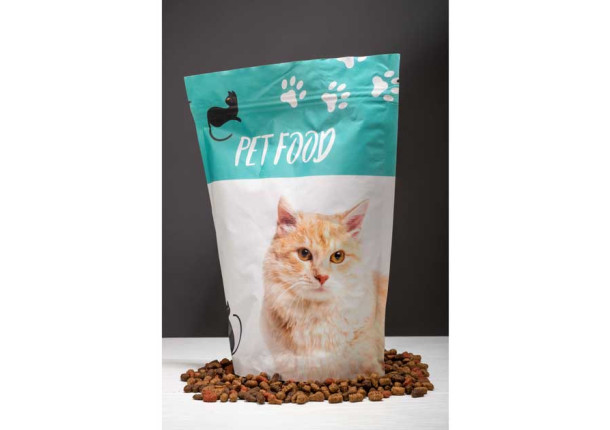 Packaging flexible doypack 100 cl pienso animales