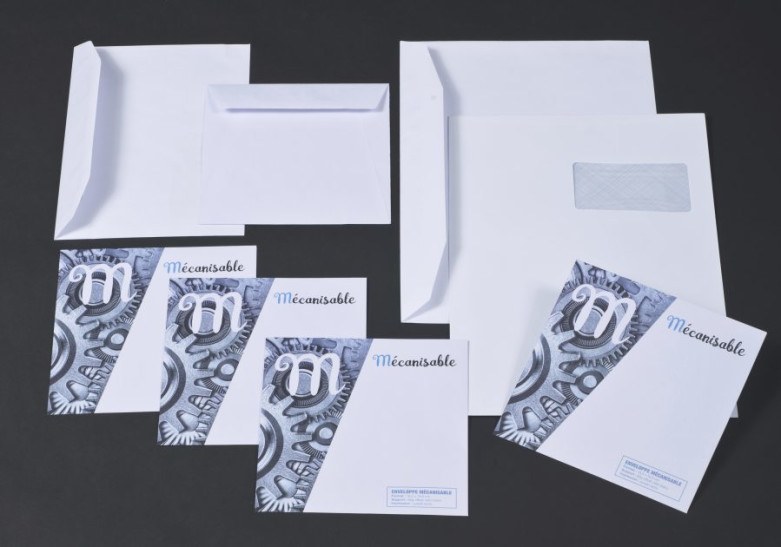 Papeterie Enveloppe mecanisable