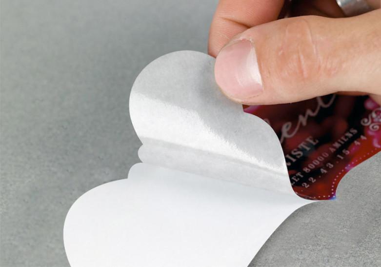 Sticker Etiquette Vinyle petit format