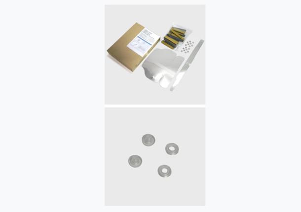 Kit de montaje de la visera protectora