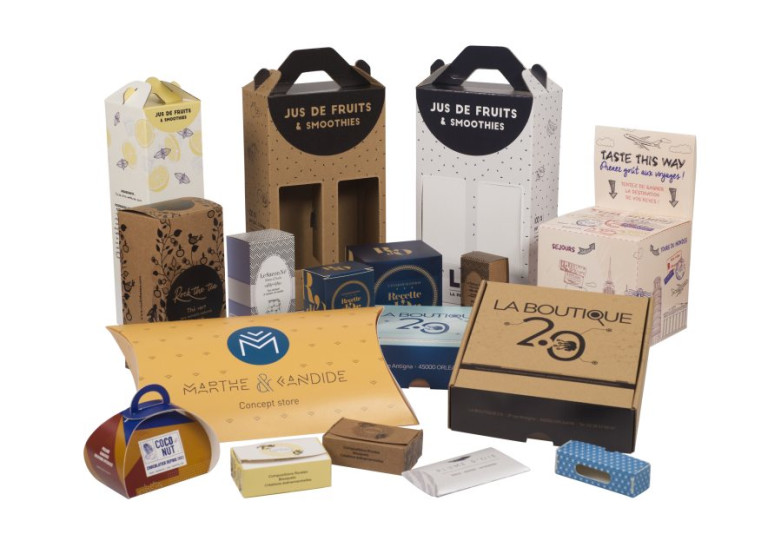 Packaging Nos modeles