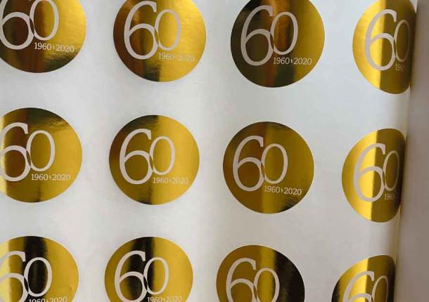 74g Papel dorado