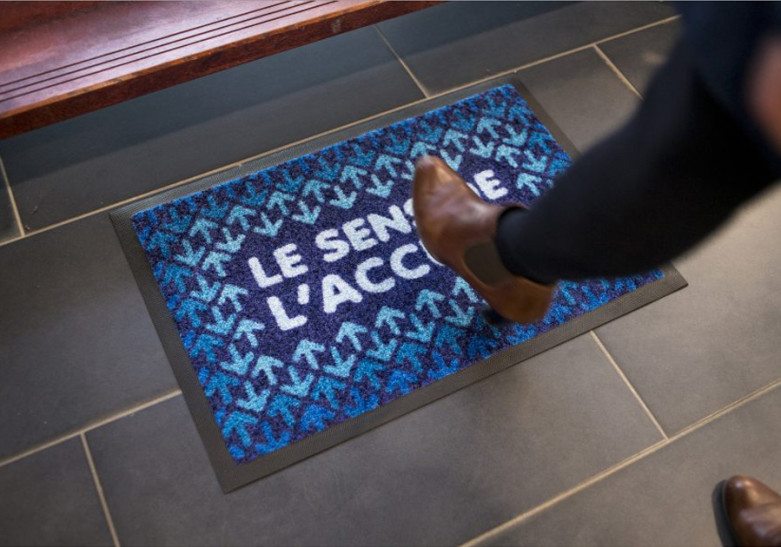 Salon Evenement tapis accueil