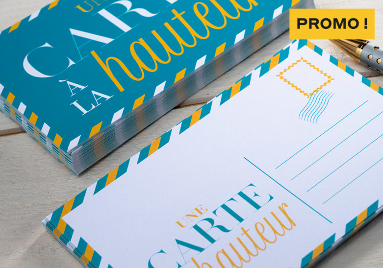 Promo - Carte postale et correspondance