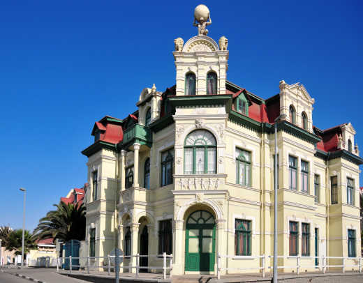 Photo du Hohenzollernhaus, un chef-d'œuvre architectural unique à Swakopmund, en Namibie