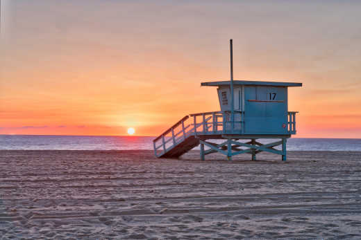 Los Angeles Beach hut