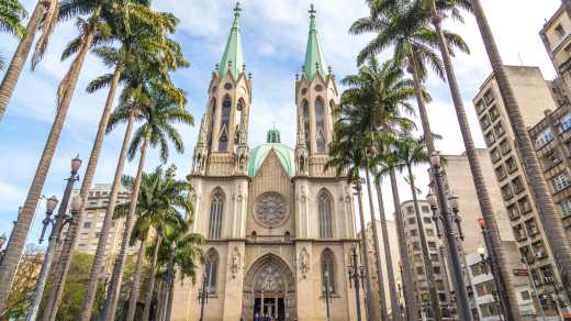 Cathedral of Sao Paulo in Brazil