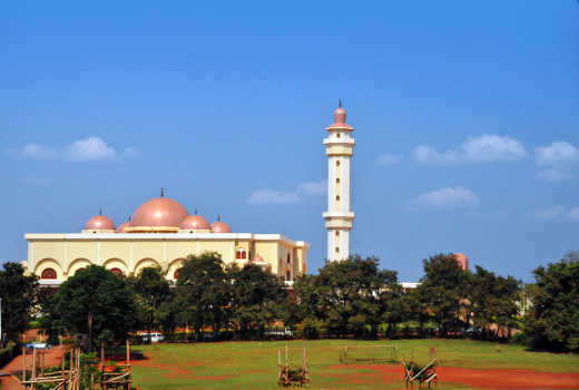 The National Mosque on central Kampala Hill