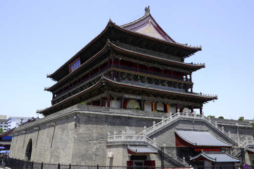 China Xi'an Drum Tower