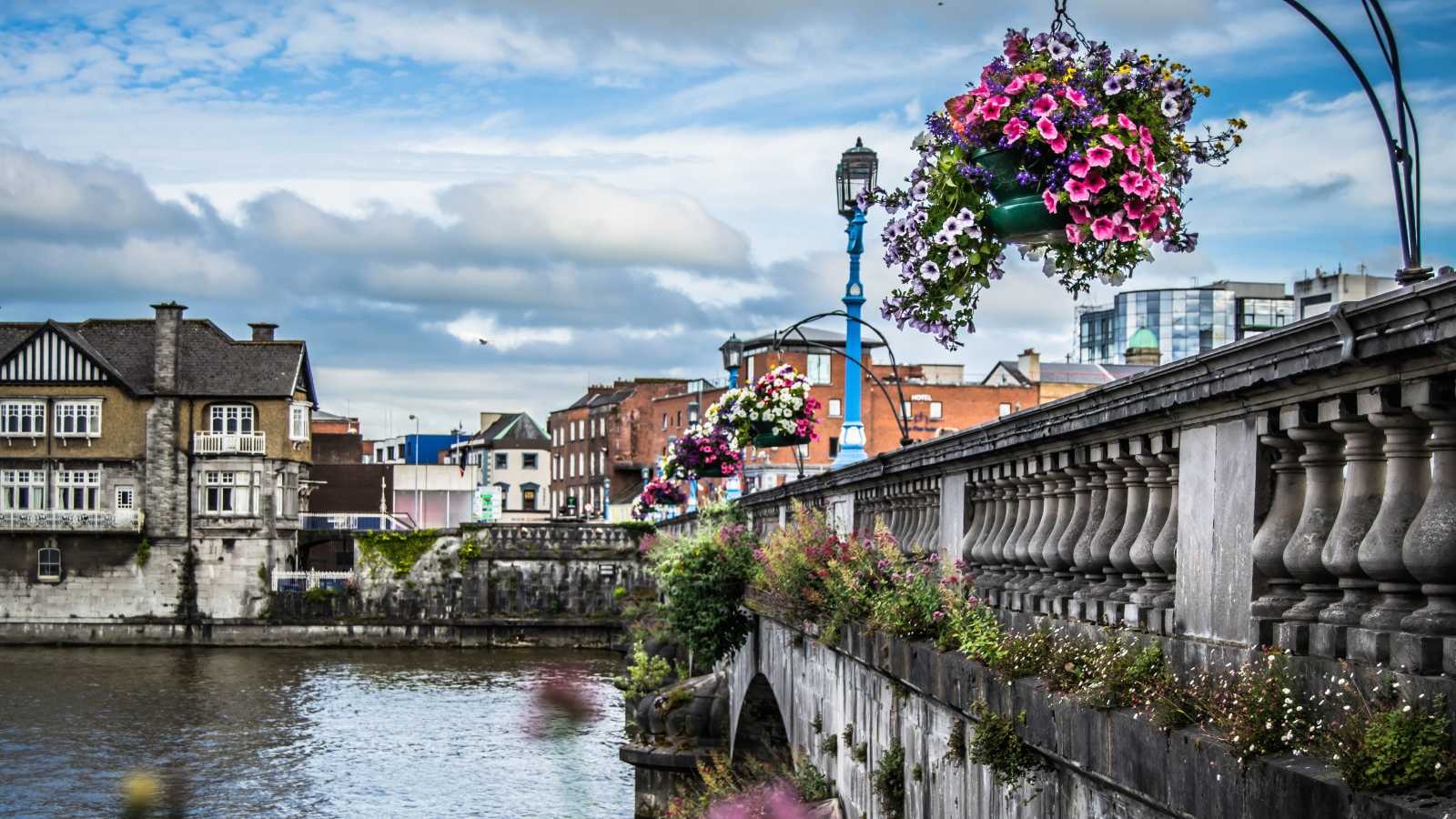 See the city of Limerick, pictured here, on a Limerick vacation