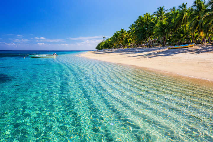 Beach of the Fiji Islands