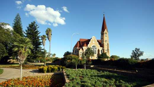 A view of Christchurch in Windhoek, Namibia