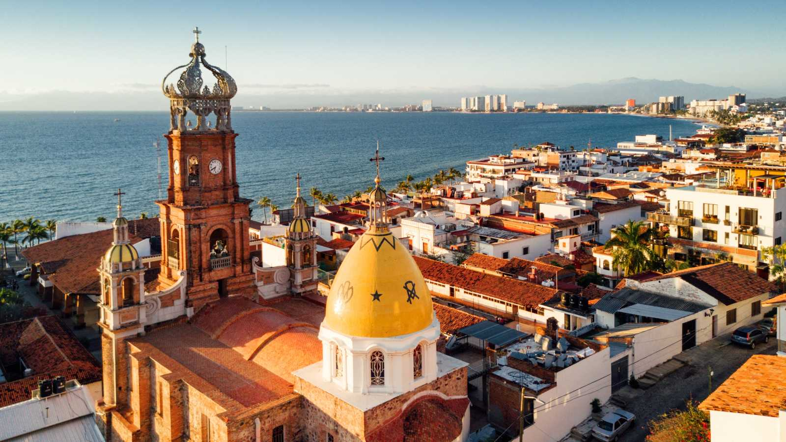 Church Parish of Our Lady of Guadalupe in Puerto Vallarta Mexico