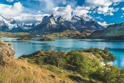 Nature of Patagonia in South America
