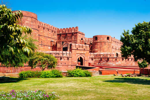 India Agra Agra Fort