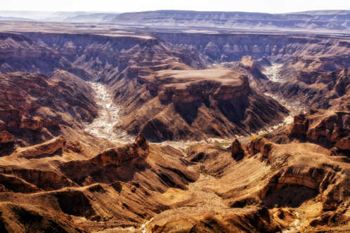 Fish River Canyon - ein besonderes Highlight auf Namibia Safari