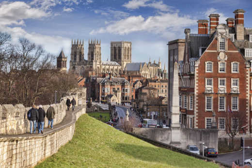 Visit the ancient Roman city of York on a Highlights of Great Britain tour