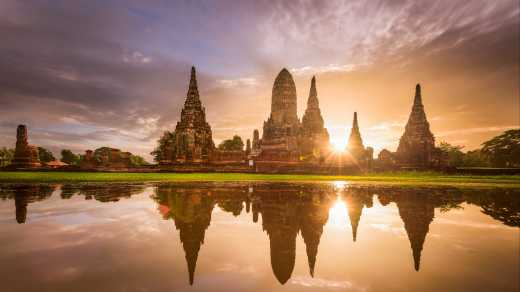 The_Wat_Chai_Watthanaram_Temple_In_Ayutthaya_Thailand