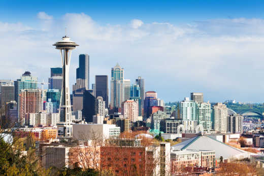 Make a stop in Seattle during your Washington vacation.