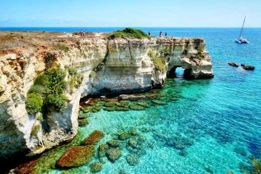 Experience cliffs and beautiful beaches on a Puglia round trip