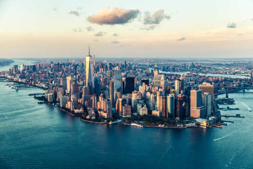 A great view of The Big Apple's skyline
