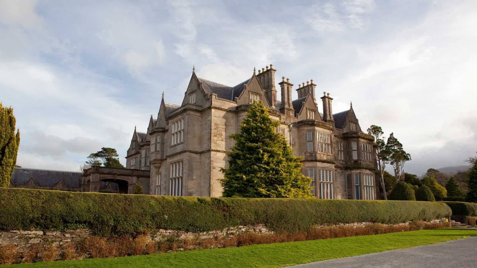 See Muckross House, pictured here, on a Killarney vacation