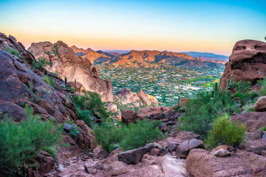 Go for a hike in the Camelback Mountain during your Phoenix Tour.