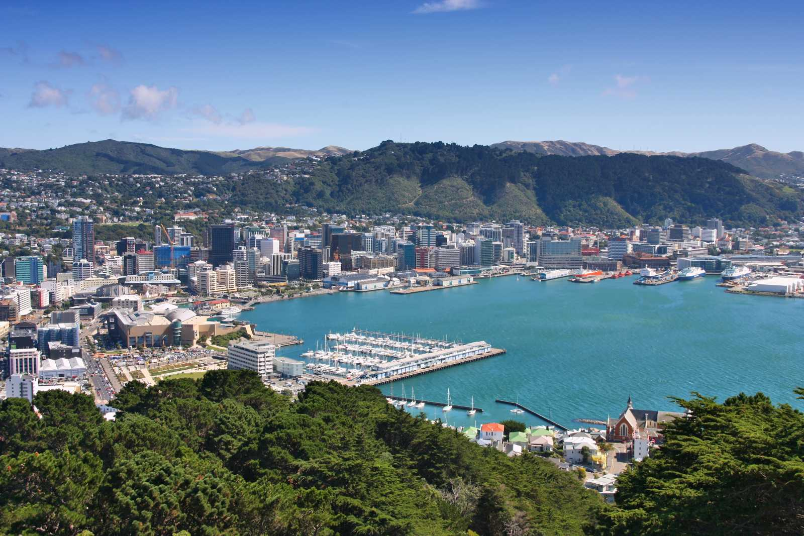 New Zealand Wellington Cable Car
