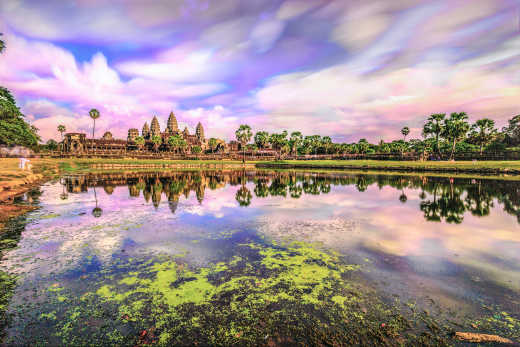 Witness the beautiful rural scenery of Cambodia on a Cambodia tour
