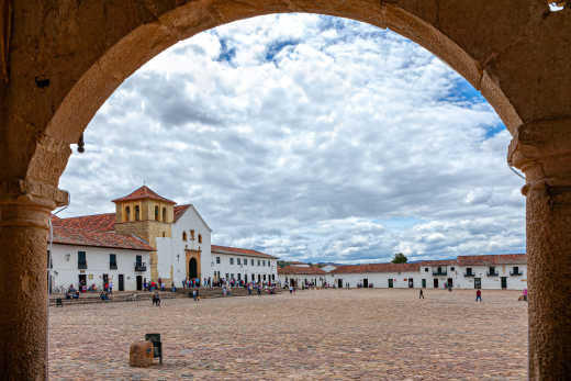 Villa de Leyva Plaza Mayor