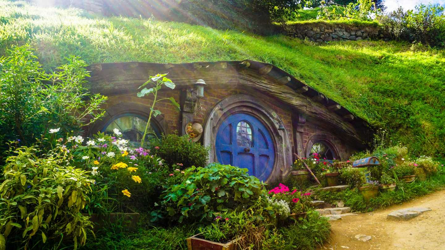 Discover hobbit houses on a Lord of the Rings tour