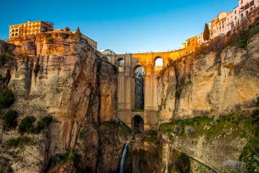 Discover the beautiful village of Ronda in Andalusia, Spain on a Spain and Portugal tour