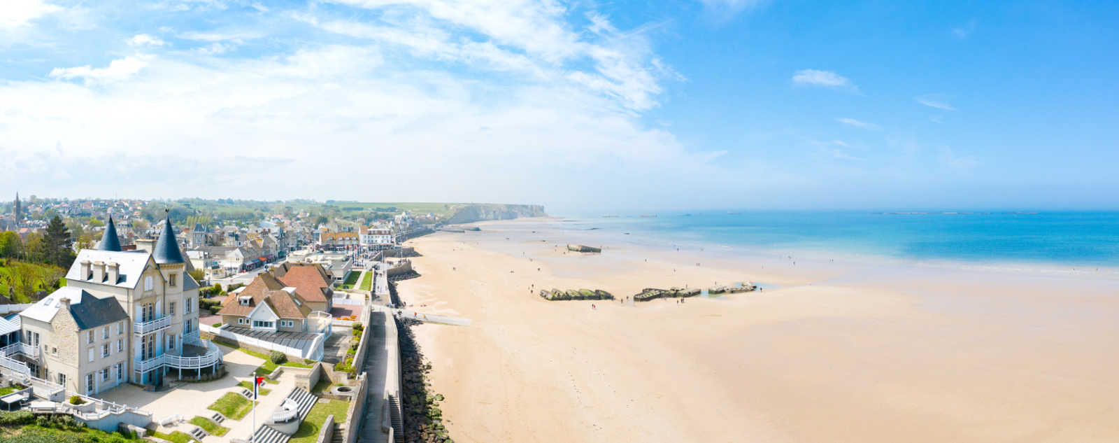 Discover the historic beaches of Normandy on a Normandy tour