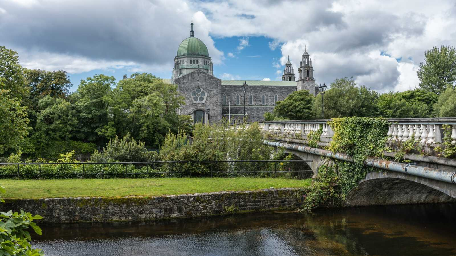See the churches of Galway, pictured here, on a Galway vacation