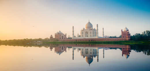Visit the Taj Mahal on a dream tour of India