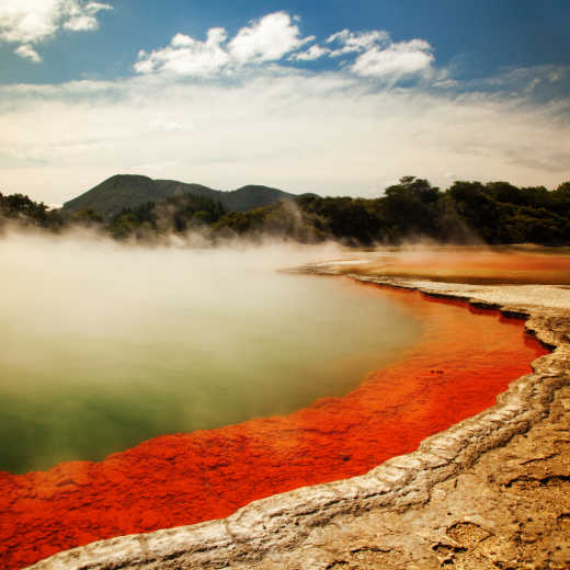 Geothermal Champagne Pool Waiotapu New Zealand
