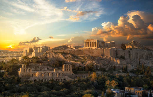 See the Acropolis of Athens, pictured here, on a tour of Greece