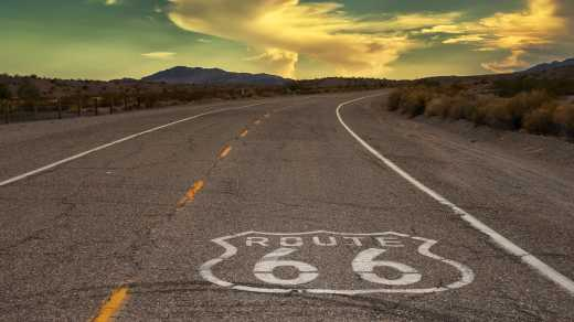 Plan a Route 66 Tour during your trip in the American West in the USA.