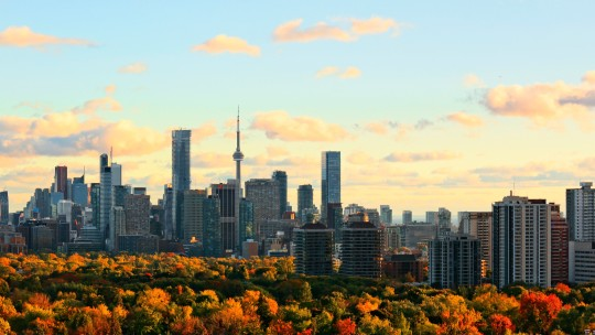 North America - USA - Herbst-Skyline