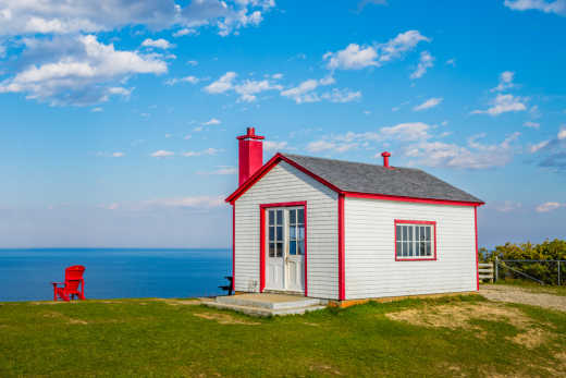 Enjoy the seaside scenery of Gaspé Peninsula during your Quebec Vacation.