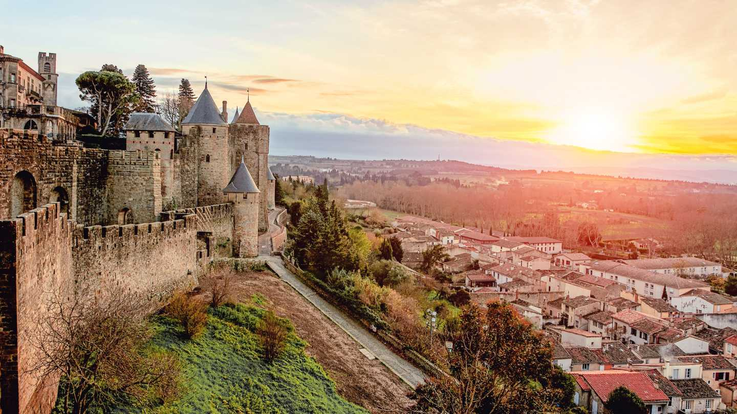 Discover the beauty of medieval cities like Carcassonne on a South of France Road Trip