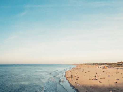 Experience the beach of Scheveningen during a holiday in The Hague