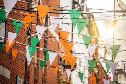 Nationalfeiertag - St. Patrick's Day in Irland