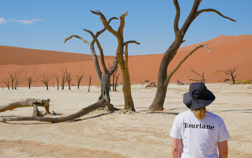 Travel Expert Verena in Namibia